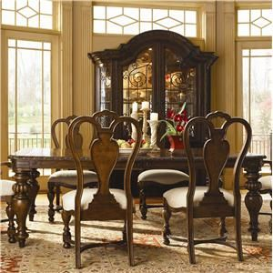 Flamenco style dining room set at Zak's Furniture