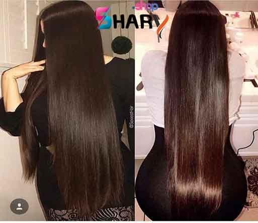 Sh0043 باروكة استريت شعر طبيعى برازيلى ذات كثافة عالية الباروكة مثبتة بكلبسات من الداخل الباروكة قابلة للغسيل والتنظيف والا Hair Styles Hair Long Hair Styles