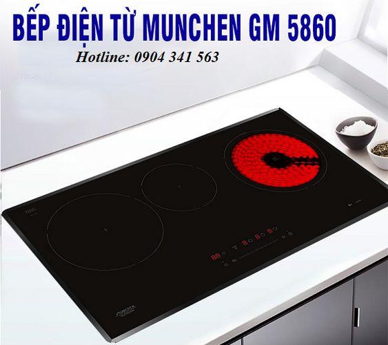 Bếp điện từ Munchen GM 5860 dùng có tốt không