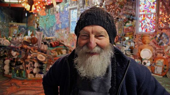 Mosaic master Isaiah Zagar offers small taste of latest art space [photos] — NewsWorks