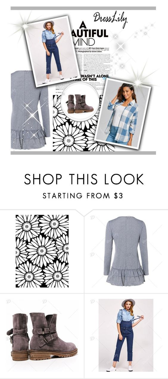 """""""A beautiful mind !"""" by gabriela-spahic22 ❤ liked on Polyvore featuring dresslily"""