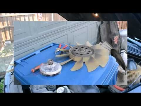 1997 2007 FORD 4.2 V6 F150 FAN CLUTCH INSTALLATION