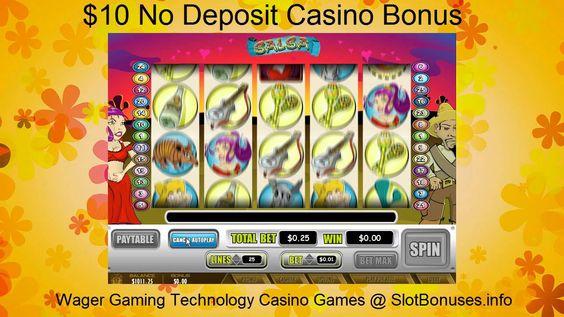 Salsa FREE No Deposit Bonus & WGT Casino Games