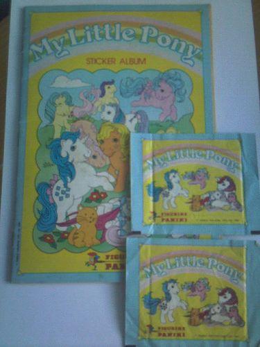 1986 Panini Stickers, My Little Pony - never had the album