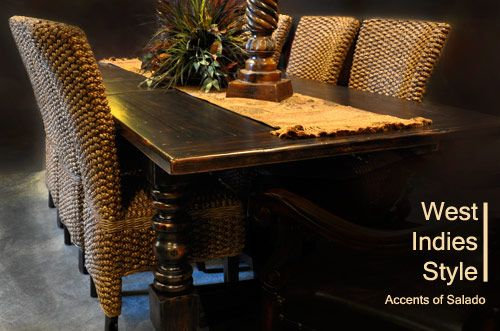 West Indiees Design West Indies Decor West Indies Style Dining Chairs And Tables Ideas For