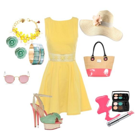 Day off, created by bobbiejoe-derhak on Polyvore