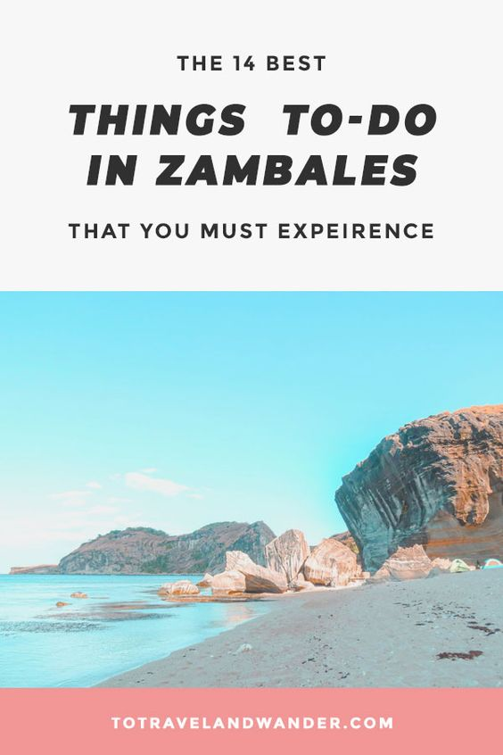 14 Best Things To-Do in Zambales This 2020 That You Must Experience