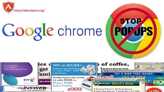 If you are a chrome user and getting unwanted and annoying pop ups then you may block such pop ups in your chrome browser with Ablock Plus ad blocker.