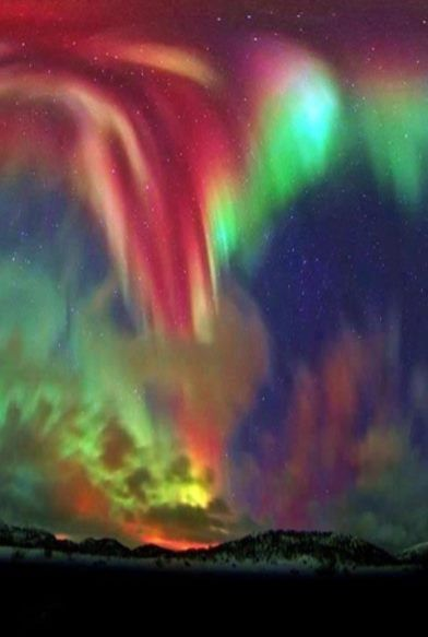 Northern Lights over Norway...these are the ones I want to see before I die!!!