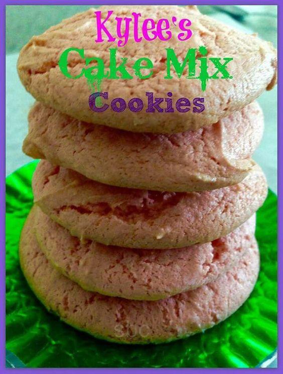 Box cake cookies