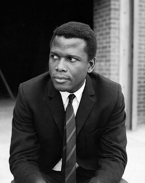 Sidney Poitier. He's awesome!