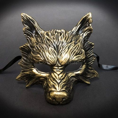 Animal Masquerade Wolf Mask Party Halloween Haunted House Burning Man Party