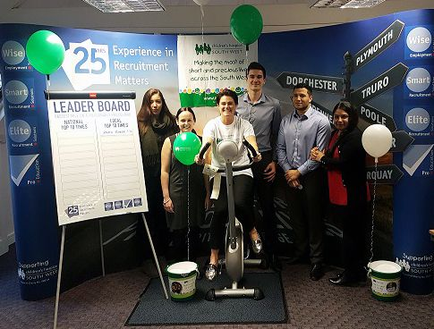 Wise Recruitment Group charity cycle
