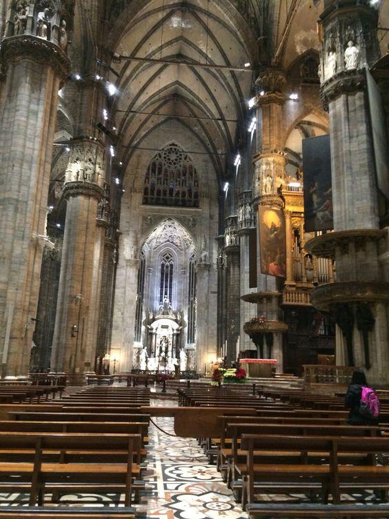 Interior Duomo de Milán