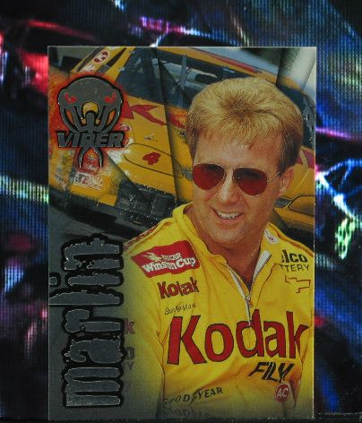 http://nascarniche.blogspot.com/  Sterling Marlin 1996 Wheels Viper Trading Card #3 Base Set Nascar