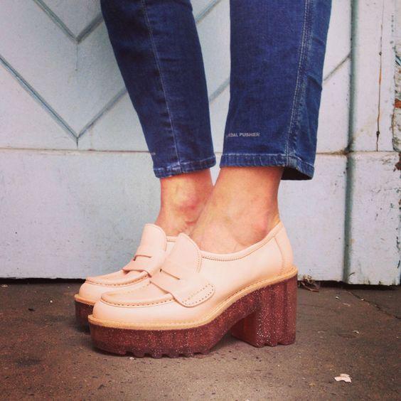 acne jelly soles Outfit: Acne Jelly Soles   oder wie ich auf den Geschmack von hohen Schuhen kam