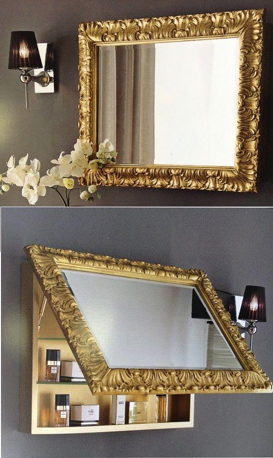 Pimp je badkamer schep ruimte met een kast en spiegel leuk om zelf te maken http www - Spiegel draaibare badkamer ...
