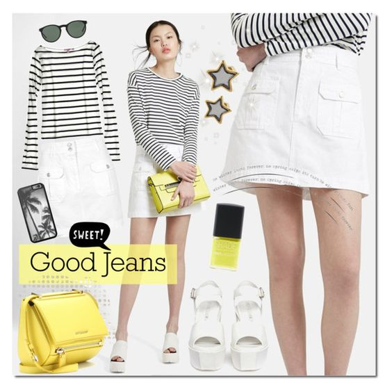 """""""Sweet Jeans"""" by justlovedesign ❤ liked on Polyvore featuring Topshop, Calypso St. Barth, Opening Ceremony, Polo Ralph Lauren, Givenchy, ESPRIT, Marc by Marc Jacobs, Lane Bryant and denimskirt"""