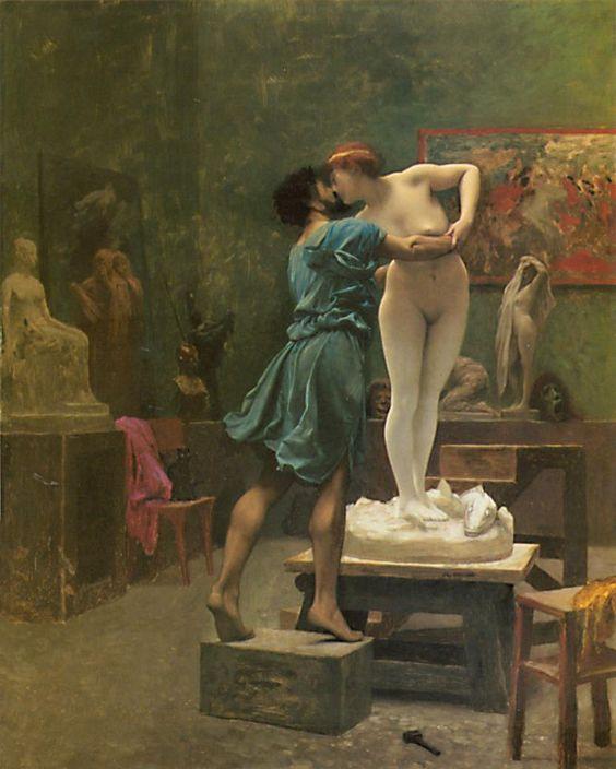 El pintor i la model