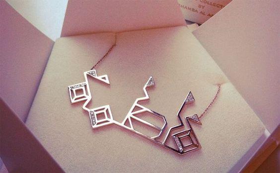 Fatima name necklace in arabic calligraphy | Arabic ...