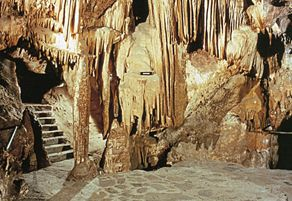 The 15-million-year-old Colossal Cave. In Pheonix, AZ  PHOTOGRAPHY COURTESY COLOSSAL CAVE MOUNTAIN PARK