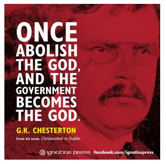 Veritas Viral Protest: Love Chesterton