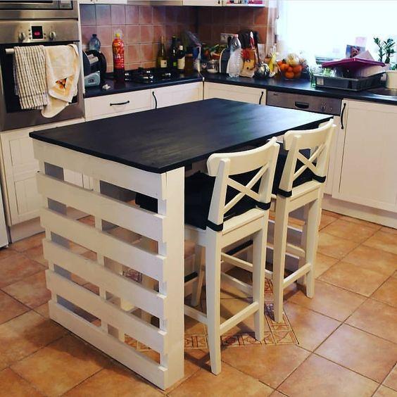 DIY Kitchen Islands