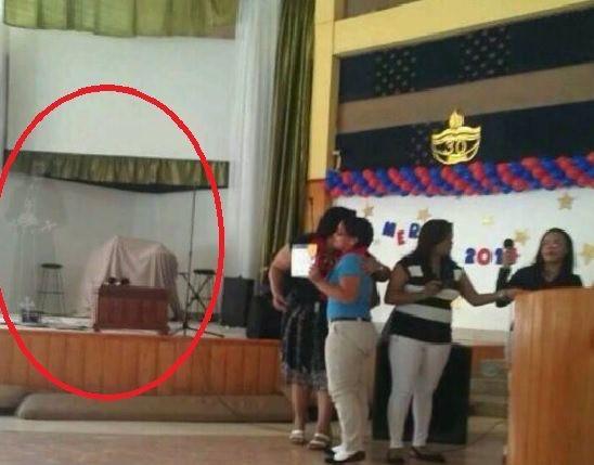 FOTO – Extraña aparición en #iglesia de Santo Domingo