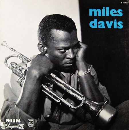 "Miles Davis - Philips B07198L [12"" LP] 1957 (Unique Dutch cover - Columbia material) / Photo- Marvin Koner"