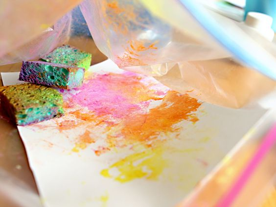 mess-free painting