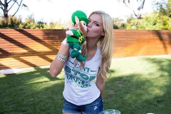 Leprechaun kisses