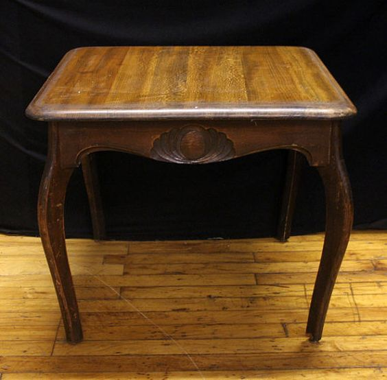 Beautiful Wood French Country Style End Side by ScrantonAttic, $99.99