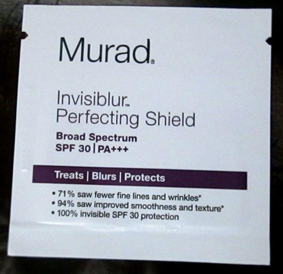 MURAD Invisiblur Perfecting Shield SPF 30 SAMPLE 0.9mL 0.03 fl oz ...
