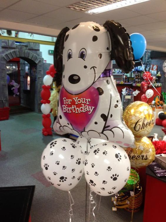 For Your Birthday #birthday #puppylove #cute #balloon: