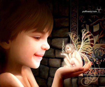 Debes crear conciencia como un niño para ver silfos.