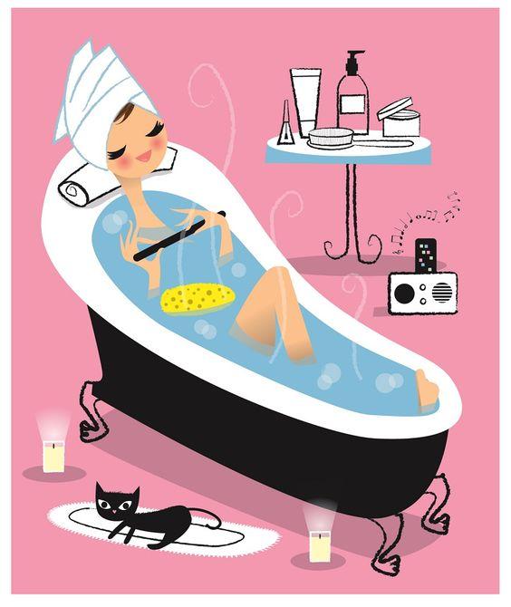 Cada experiencia te dará una satisfacción, un rico baño y a descansar...good night <3: