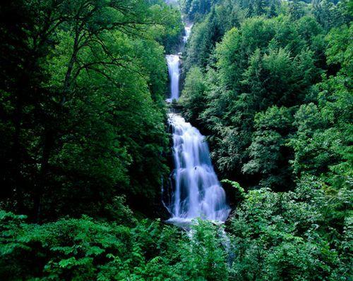 The Giessbach Falls, Switzerland