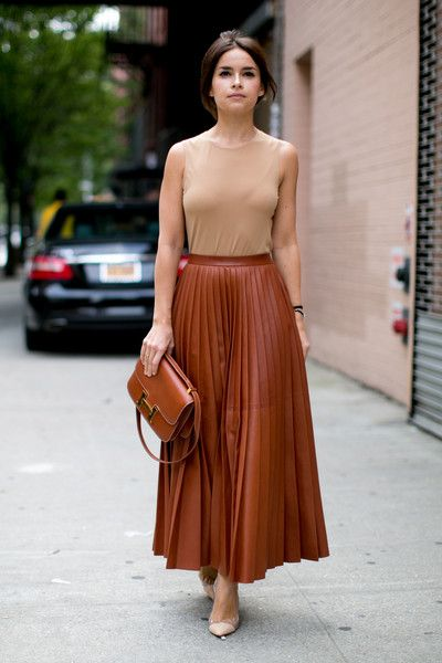 Miroslava Duma New York Fashion Week Spring 2014 Attendees Pictures - StyleBistro: