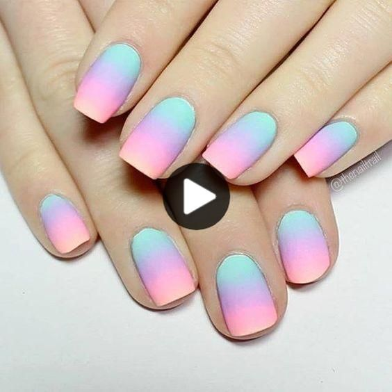 Summer Bright Nails With Black Accent Best Stiletto Nails Designs Ideas Tips For You See More In 2020 Coffin Nails Ombre Nail Art Ombre Stiletto Nails Designs