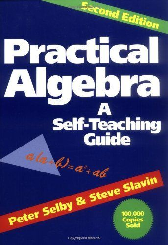 Practical Algebra If you studied algebra years ago and now need a refresher course in order to use algebraic principles on the job, or if you're a student who needs an introduction to the subject, here's the perfect book for you. Practical Algebra is an easy and fun-to-use workout program that quickly puts you in command of all the basic concepts and tools of algebra. With the aid of practical, real-life examples and applications, you'll learn:* The basic approach and a