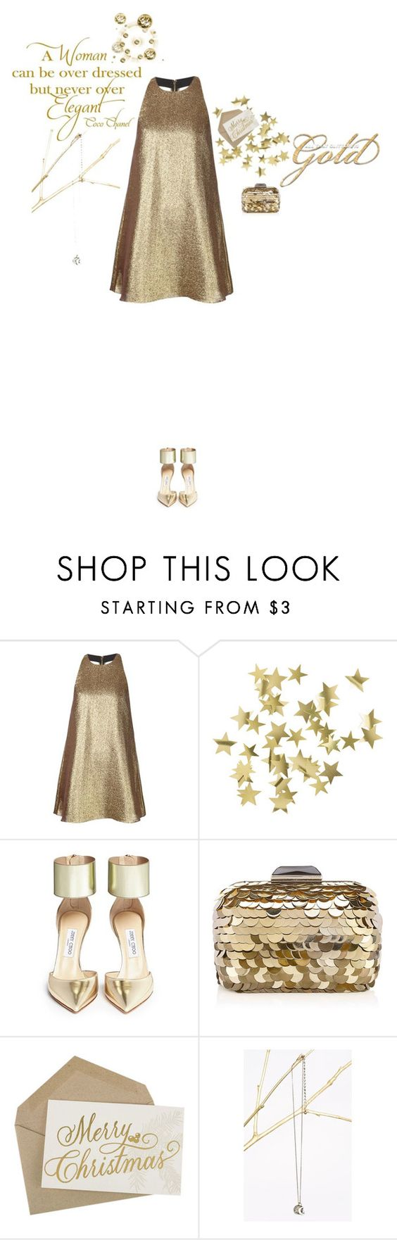 """""""SM7 Nº16 Open Back"""" by belldraw ❤ liked on Polyvore featuring Alice + Olivia, H&M, Jimmy Choo, Chanel, stylemission and SM7"""