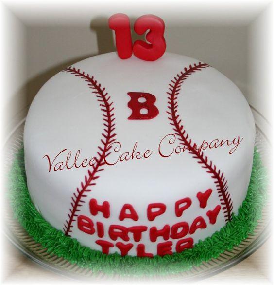 Baseball Cakes, Baseball And Atlanta Braves On Pinterest