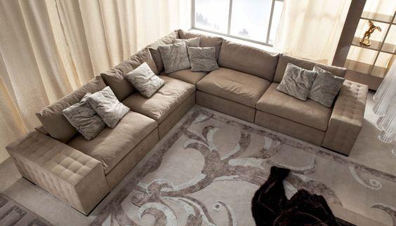 Giorgio Collection Lifetime Sayonara Corner Sofa   Beautiful And  Comfortable Modular Sofa Range Which Can Be Made Into Almost Limitless  Configuratiu2026