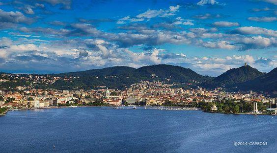 Panoramica di Como -  ©2014 Capsoni