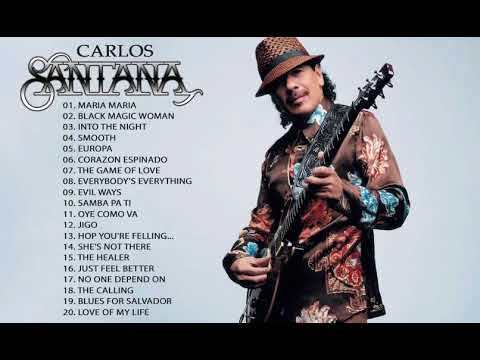 Carlos Santana Greatest Hits Collection The Very Best Of Carlos Santana Youtube Soul Music Music Hits Black Magic Woman