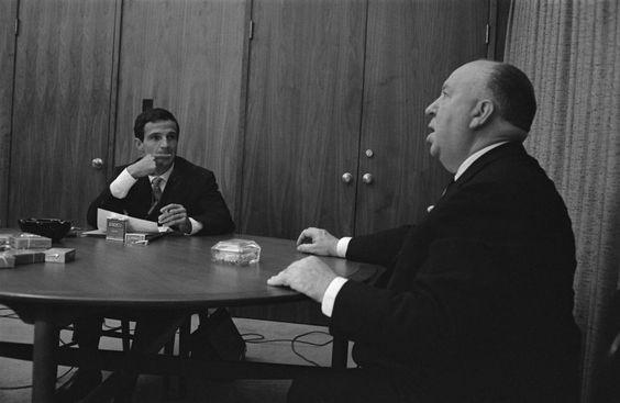 O encontro entre Alfred Hitchcock e François Truffaut