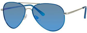Polaroid 60mm, Aviator Polarized Sunglasses