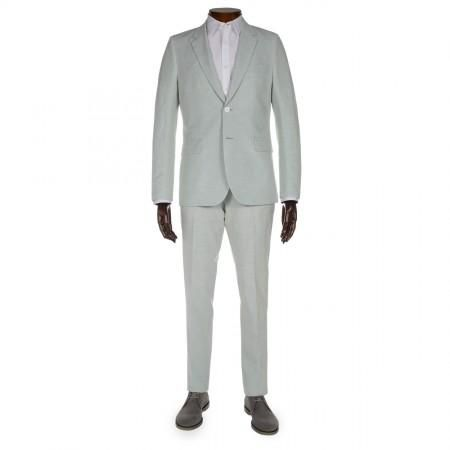 Paul Smith Men's Suits - Slim-Fit Mint Green Linen-Blend Suit