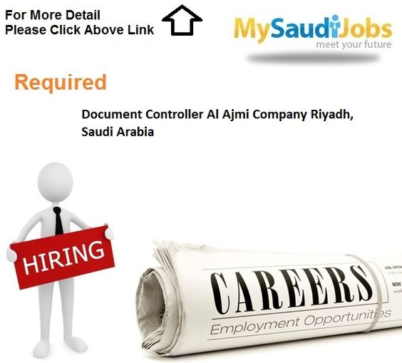 Document Controller Al Ajmi Company Riyadh, Saudi Arabia Saudi - document controller