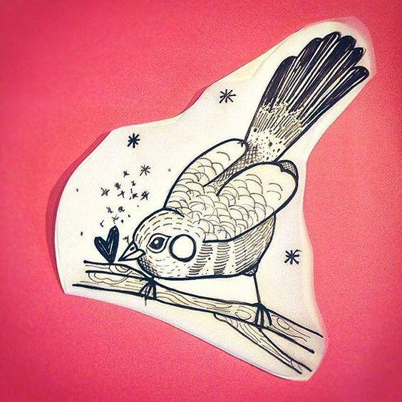 ✨ #flash #tattooflash #bird #birdtattoo #sketch #tattoosketch #draw #drawing #dessin #tattoo #blackwork #blacktattoo #blackworktattoo #graphic #tattooapprentice #ink #illustration
